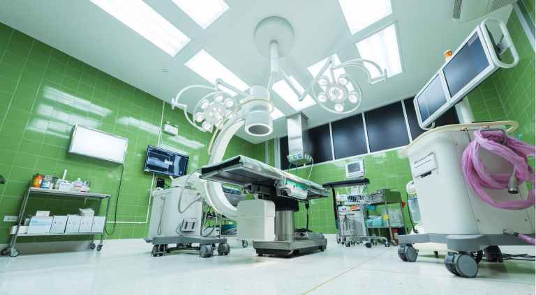 view of operating room